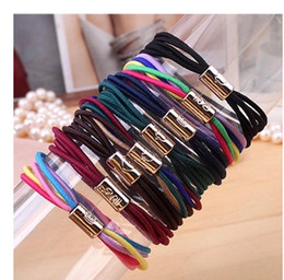 Metal Hair Tie holder bowknot heart Hair Band Tie Holder bands for women girls Free Shipping