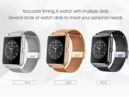 Smart Watch Z60 GT08S Clock With FM Sim Card Slot Push Message Bluetooth Connectivity Android Phone Smartwatch Alloy Smartwatch