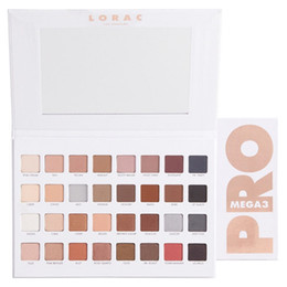 Wholesale Lorac Mega Pro Los Angeles Palette Limited Edition Eyeshadow Palette Shades Vs Shimmer Matte Eye Shadow Palette