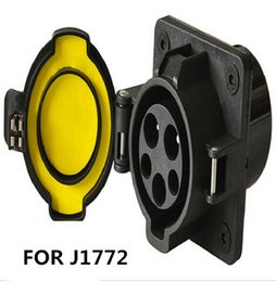 Wholesale SAE J1772 AC inlet A without CABLE for EV electric car charging station EV J1772 Charger