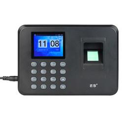 Wholesale Time Recorder Clocking In Clock Machine Attendance Employee Fingerprint Attendance Machine F6110A