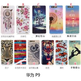 Wholesale Flower Soft TPU Case Dream catcher Dandelion Cartoon Tiger OWL BAM Pow LOVE For Huawei P9 Lite LG G5 Samsung Galaxy J710 J7 Skin Luxury
