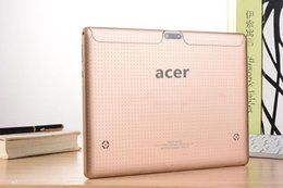 Wholesale DHL inch Acer Tablet PC octa core MTK CPU2 GHZ3G G call camera MP Android
