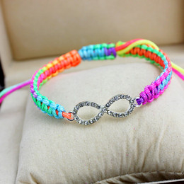 hot sale Bracelets Mixed Style new Fashion Jewelry Wholesale Infinity Charm Bracelet Vintage Accessories Lover Gifts