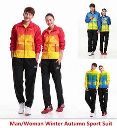 Wholesale For Man Woman new winter autumn badminton shirt badminton clothes table tennis shirt table tennis clothes T shirt