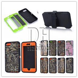 For Iphone 6s Camouflage Hybrid Robot Case Cover With Stander + Retail Box For Samsung Galaxy S5 S6 edge Plus S7 edge Note3