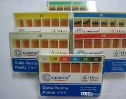 Wholesale 10 packs GAPADENT Gutta Percha Points Endodontics Professional Dental Use CE