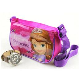 Wholesale Froze Cartoon Girl Baby Bag Messenger Bag Cartoon Character Printing Zipper Soft Kids Bag Kindergarten Girls New Arrival