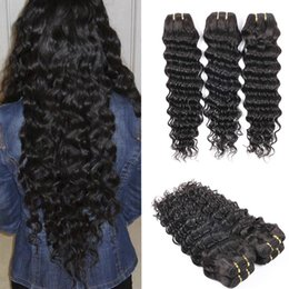 8A Mongolian Deep Curly Hair Unprocessed Mongolian Deep Wave 3 Pcs lot Mongolian Curly Hair Cheap Human Hair Extensions