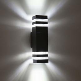 Wholesale Outdoor Waterproof IP65 Aluminum LED Wall Lamps Garden Lights Balcony Lamp