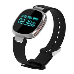 Mi bracelet de bande en Ligne-Intelligent Wristband E08 moniteur de fréquence cardiaque Smartband Bracelet Pour Android étanche Tracker Fitness Bandeaux Pk Xiaomi Mi Band 2
