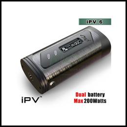 Wholesale 100 Original Pioneer4you IPV X TC W Box Mod with SX Chip Vs Ijoy limitless LUX w