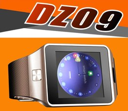 Wholesale DZ09 Smart Watch GT08 U8 A1 Wrisbrand Android iPhone iwatch Smart SIM Intelligent mobile phone watch can record the sleep state Smart iwatc