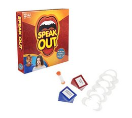 Discount Price Speak Out Game KTV party Game Christmas Toy Game cards fast shipping hot item Chrismas gift