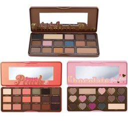 Wholesale Brand Makeup Palette Sweet Peach Eye Shadow Chocolate Bar Eyeshadow with Bar Sweet Bon Smell Palette colors