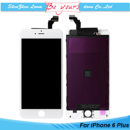Wholesale For iPhone Plus LCD with Touch Screen Digitizer Assembly White Inch Grade AAA No Dead Pixel DHL