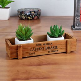 Wholesale Antique Wooden Table Sundries Container Cosmetics Jewelry Storage Box Home Storage Box Wooden Jewelry Holder H046