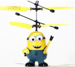 Wholesale Best Price Despicable Minions Me Toys Mini Remote Control RC Helicopter Drone Flying Electronic Toys Shatter Boy Birthday Gift