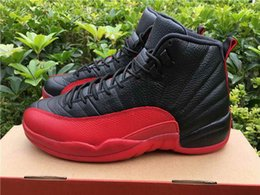 Wholesale DROP SHIPPING retro Flu Game s With Real Carbon Fiber for Men Basketball Sport Shoes Size Ship with Box