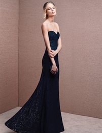 Wholesale Vintage mermaid Evening Dresses plus size Evening gowns long Evening Dresses Elegant heart shaped collar Bud silk dress Manufacturer