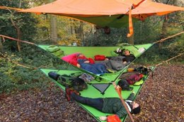 Wholesale New American Tree Tent Insect Prevention Person Outdoor Hanging Tentsile Trillium Hammock Camping Hiking Treehouse D Oxford