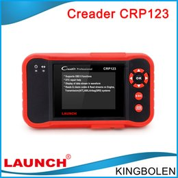 Wholesale 2016 Original Launch CRP123 Update Online LAUNCH X431 Creader CRP123 ABS SRS Transmission and Engine obd2 Code Scanner DHL