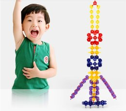 Snowflake Building blocks 1000 large plastic toy with boys and girls treasure 1-2 children 3-6-7 years of age Toy wholesale