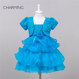 Wholesale little girl beauty pageant and party designer dresses Two Pieces cupcake pageant dresses Organza fabrics best chinese suppliers