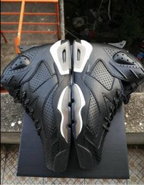 Wholesale Shoes Big Rhinestones - With Box Big Discount Retro Air 6 VI Black Cat INFRARED Man Basketball Shoes AAAA High Wholesale Size USA 7 12 Free Shipping Sneaker