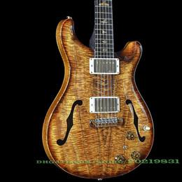 10S Custom Shop Private Stock #6138 Koa Hollowbody II With Piezo Electric Guitar