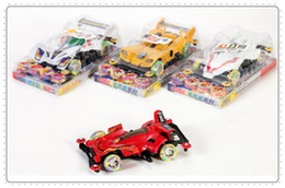 Wholesale Stunning small sports car, the new assembly assembled electric toy car, four-wheel toys, children toy car