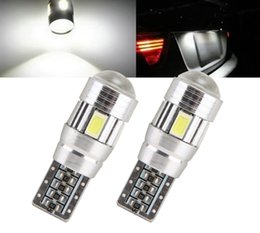 Wholesale T10 W5W SMD Car Auto LED HID Canbus Error FREE Car Side Wedge Light Parking Fog Light