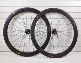 Wholesale disc hub wheels wheels C mm full carbon road bike wheels rim bicycle wheelset mm mm mm k UD twill weave