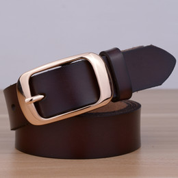 Gros-2015 Classicc Nouvelle arrivée en cuir Cuir Capital Buckle femmes ceintures en cuir de taille pour les femmes de sangle femelle à partir de femmes boucles de ceinture gros fabricateur
