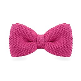 Men's Tuxedo Adjustable Pink Bow Tie Party Business Casual cotton Bow Tie Gift Box Men's Fashion Accessories F-303