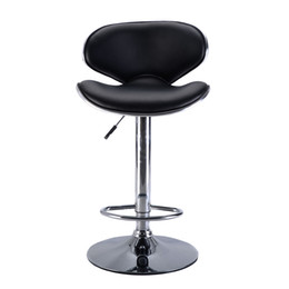 Wholesale Bar Stools Leather Modern Hydraulic Swivel Dinning Chair Barstool