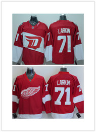 Wholesale 2016 Stadium Series Detroit Red Wings Dylan Larkin Jerseys Home Red Dylan Larkin Ice Hockey Jersey Stitched