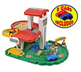 Wholesale 2014 new parking storey toys with cars elevator lift track platform toy parking