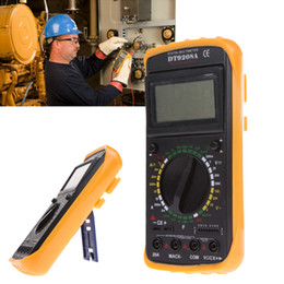 Wholesale Unihome New DT9208A LCD Display Professional Handheld Tester Digital Multimeter