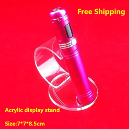 5 pcs lot Acrylic e cig display stand mod holder display rack for vapor ecig mech mod chiyou panzer e cigarette display