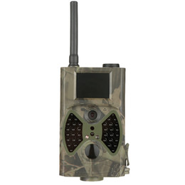 Wholesale HC300M Hunting Camera GPRS MMS SMS Digital Infrared Trail Camera Scouting Surveillance Hunting Camera NM IR LED
