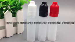DHL Free 15ml PE Unicorn Bottle for eliquid, 15ml PE pen shape bottle with tamper child proof Cap e liquid bottle 15ml