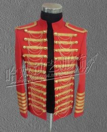 Men's fashion personality han edition night club singer star stage performance clothing costumes studio photo coat S - 5 xl
