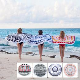 Round Towel Round Beach Towel Cotton Round Tassel Beach Towel Adult Beach Towel 59in Serviette Ronde Toalla Playa