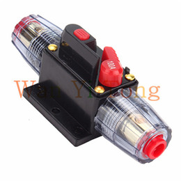 Wholesale Car Truck Audio A Amplifier High Current Circuit Breaker Fuse Holder V