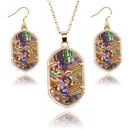 2016 New Jewelry Set Earrings and Necklace kendra jewelry 7 color new style for party
