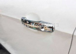 Wholesale ABS Chrome Door Handle Cover plated Molding Trim Piece Set fit for Ford Escape Kuga