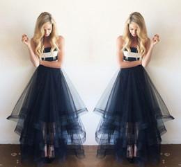 Sexy Black Tulle Layers Skirts Asymmetrical multilevel Floor Length Adult Tutu Bust Skirt Formal Cocktail Skirts Girl Skirts
