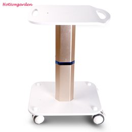 Trolley Stand Styling Pedestal Rolling Cart Roller Wheel Aluminum ABS For Cavitation Lipo Laser Beauty Equipment Use