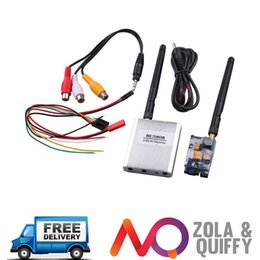 FPV 5.8GHz 200mW Audio Video AV Wireless Transmitter Receiver 200mW 5.8GHz FPV 2014
